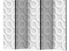 Paraván - Grey Spirals II [Room Dividers]